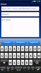 Sony Ericsson Xperia X10 - E-mail - envoyer un e-mail - Étape 7
