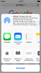 Apple iPhone 5c iOS 9 - Internet - Navigation sur Internet - Étape 5
