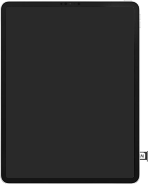 Apple ipad-pro-12-9-inch-2018-Model A1895-ipados-13 - Instellingen aanpassen - SIM-Kaart plaatsen - Stap 5