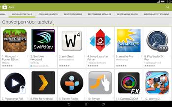 Sony Xperia Tablet Z2 4G (SGP521) - Applicaties - Downloaden - Stap 7