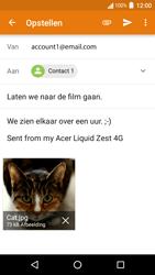 Acer Liquid Zest 4G - E-mail - E-mails verzenden - Stap 15