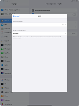 Apple iPad Pro 12.9 (2018) - ipados 13 - E-mail - configuration manuelle - Étape 17