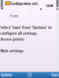 Nokia C5-00 - MMS - Automatic configuration - Step 6
