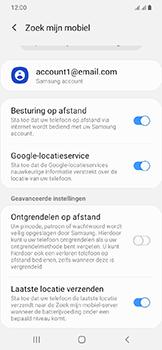 Samsung Galaxy A20e - Beveiliging en privacy - zoek mijn mobiel activeren - Stap 9