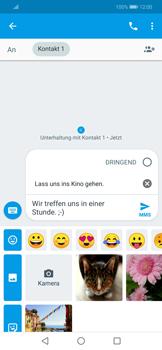 Huawei Mate 20 Lite - MMS - Erstellen und senden - 12 / 20