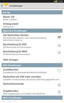 Samsung N5100 Galaxy Note 8-0 - SMS - Manuelle Konfiguration - Schritt 6
