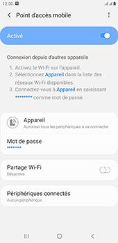 Samsung Galaxy J4 Plus - Internet - comment configurer un point d'accès mobile - Étape 12