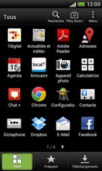 HTC Desire X - Logiciels - Installation de mises à jour - Étape 4
