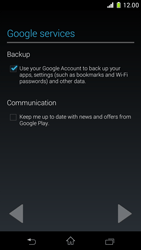 Sony Xperia Z1 Compact - Applications - Setting up the application store - Step 14