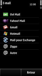 Nokia 500 - E-mail - configuration manuelle - Étape 7