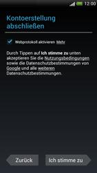 HTC One S - Apps - Konto anlegen und einrichten - 15 / 23