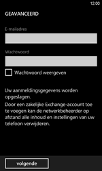 HTC Windows Phone 8S - E-mail - Handmatig instellen - Stap 7
