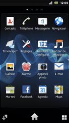 Sony ST25i Xperia U - Messagerie vocale - Configuration manuelle - Étape 3