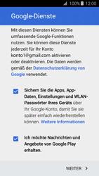 Samsung Galaxy J3 (2016) - Apps - Konto anlegen und einrichten - 17 / 21
