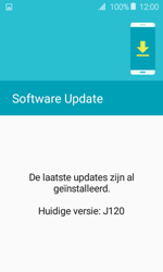 Samsung J120 Galaxy J1 (2016) - Toestel - Software update - Stap 9