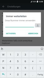 HTC 10 - Anrufe - Rufumleitungen setzen und löschen - Schritt 9