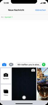 Apple iPhone X - MMS - Erstellen und senden - 13 / 19