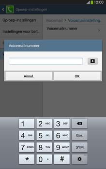 Samsung T315 Galaxy Tab 3 8-0 LTE - Voicemail - Handmatig instellen - Stap 9