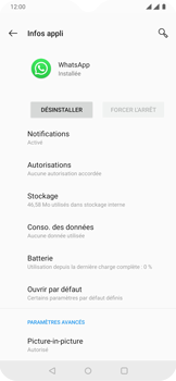 OnePlus 7 - Applications - Supprimer une application - Étape 7