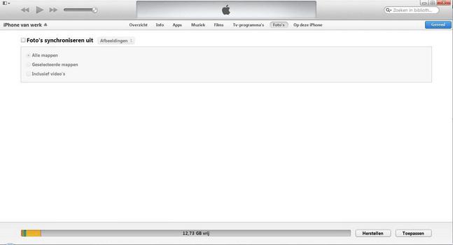 Apple iPhone 4 met iOS 7 - Software - PC-software installeren - Stap 15