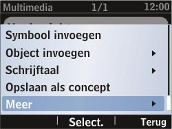 Nokia Asha 302 - MMS - Afbeeldingen verzenden - Stap 9