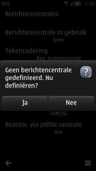 Nokia 700 - SMS - Handmatig instellen - Stap 7