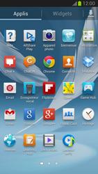 Samsung Galaxy Note 2 - Contact, Appels, SMS/MMS - Utiliser la visio - Étape 3