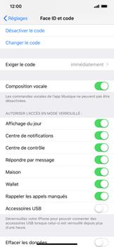 Apple iPhone XS Max - Sécurité - activéz le code PIN de l'appareil - Étape 8