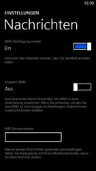 Nokia Lumia 1520 - SMS - Manuelle Konfiguration - 8 / 9