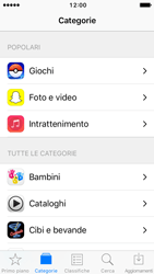 Apple iPhone SE - iOS 10 - Applicazioni - Installazione delle applicazioni - Fase 5