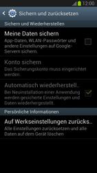 Samsung Galaxy S III - OS 4-1 JB - Fehlerbehebung - Handy zurücksetzen - 0 / 0