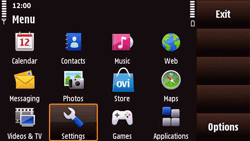 Nokia N97 Mini - MMS - Manual configuration - Step 3