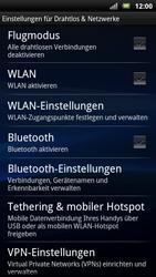 Sony Ericsson Xperia X10 - WLAN - Manuelle Konfiguration - Schritt 5
