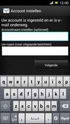 Sony ST26i Xperia J - e-mail - handmatig instellen - stap 15