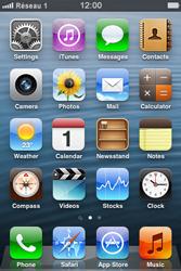 Apple iPhone 3GS - Réseau - Sélection manuelle du réseau - Étape 7