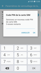 Samsung Galaxy S7 Edge - Sécuriser votre mobile - Personnaliser le code PIN de votre carte SIM - Étape 9