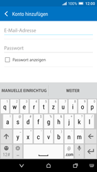 HTC One A9 - E-Mail - Konto einrichten - Schritt 7