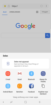 Samsung Galaxy S8 Plus - Android Oreo - Internet - hoe te internetten - Stap 19