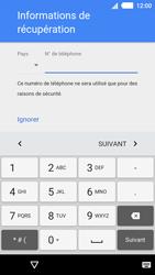 Sony Xperia M4 Aqua - Premiers pas - Créer un compte - Étape 12