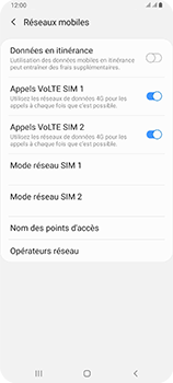 Samsung Galaxy A80 - Internet et roaming de données - Configuration manuelle - Étape 8