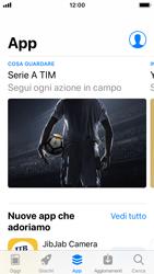 Apple iPhone SE - iOS 11 - Applicazioni - Installazione delle applicazioni - Fase 6