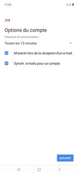 Samsung Galaxy A71 - E-mails - Ajouter ou modifier un compte e-mail - Étape 20