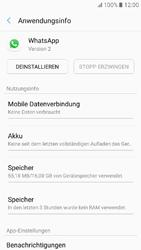 Samsung Galaxy A3 (2017) - Apps - Eine App deinstallieren - Schritt 6