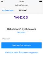 Apple iPhone SE - iOS 13 - E-Mail - Konto einrichten (yahoo) - Schritt 7