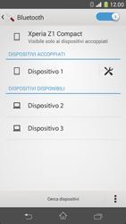 Sony Xperia Z1 Compact - Bluetooth - Collegamento dei dispositivi - Fase 8