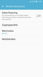 Samsung G930 Galaxy S7 - Netzwerk - Netzwerkeinstellungen ändern - Schritt 7