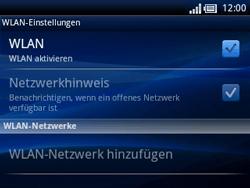 Sony Ericsson Xperia X10 Mini Pro - WLAN - Manuelle Konfiguration - 1 / 1