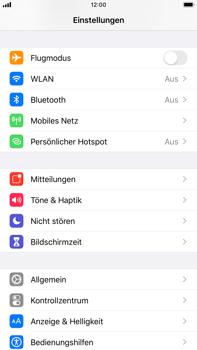 Apple iPhone 8 Plus - iOS 13 - Startanleitung - So fügen Sie eine Tastatursprache hinzu - Schritt 3