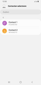 Samsung galaxy-a8-2018-sm-a530f-android-pie - Contacten en data - Contacten kopiëren van SIM naar toestel - Stap 9