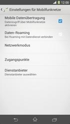 Sony Xperia Z1 - Internet - Manuelle Konfiguration - Schritt 8